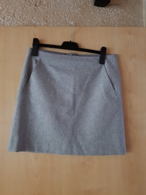 Marc O'Polo Wool Skirt light grey