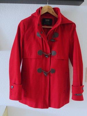 Schicker roter Duffle Coat von ESPRIT, Gr. 40 - sehr elegant