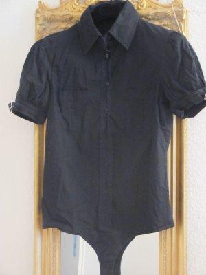 Schicker schwarzer Blusen-Body