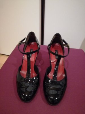 schicker Spangenpumps