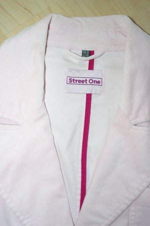 Schicker STREET ONE Blazer in rosa in Gr. 40