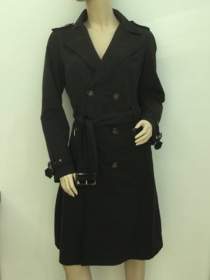 Schicker Trenchcoat in dunkelbraun