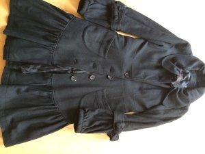 Snob Short Coat black wool
