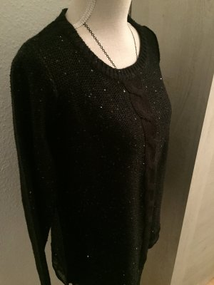 Schicker und moderner Pullover  in Schwarz