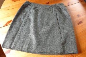 H&M Wollen rok grijs