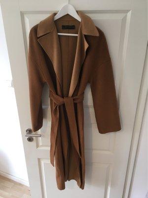 Zara Woman Wool Jacket beige-camel