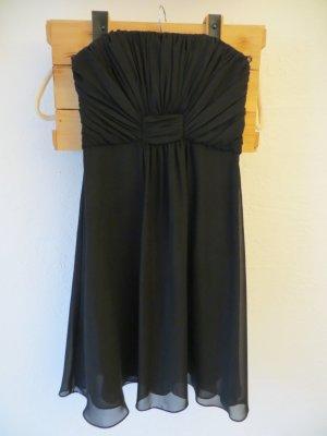 schickes Abendkleid schwarz von MONTEGO Gr. 36
