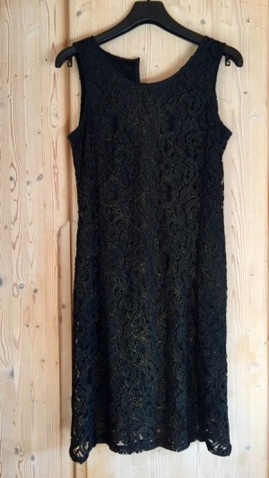 Esprit Empire Dress black-gold-colored