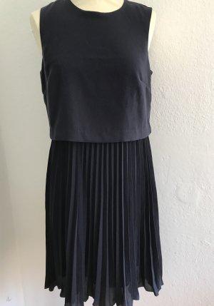 H&M Cocktailjurk donkerblauw Polyester