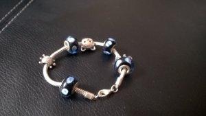 *Schickes Armband mit Charme für Tierfreunde/Glücksbringer/ italienischer Schmuck* (Elefant, Katze, Schildkröte )