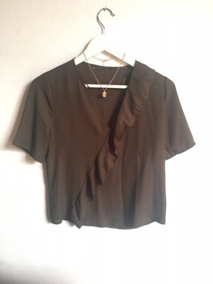 Schickes Blusen Shirt mit V Ausschnitt