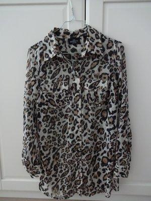 schickes Blusenhemd leoprint