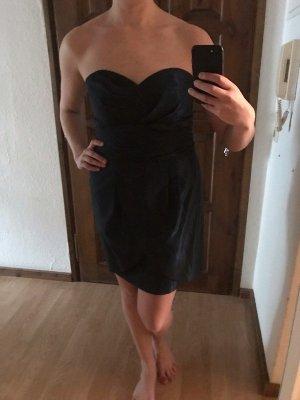 Schickes Cocktail Kleid dunkel blau