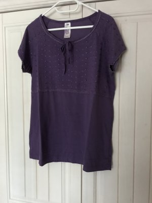 Boule Camisa holgada violeta oscuro