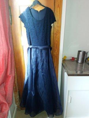 Schickes dunkelblaues Abendkleid bzw. Brautjungfernkleid bzw. Ballkleid