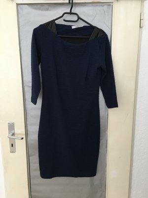 Fransa Midi Dress dark blue-black