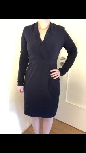 Schickes Esprit Kleid M Marineblau