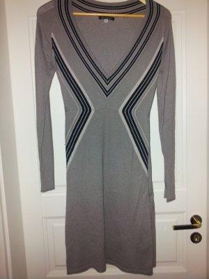 Schickes Feintstrick-Kleid von Divina mit Kaschmir Pulloverkleid Sweaterdress