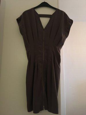 Schickes graues Kleid / Reißverschluss