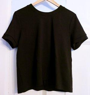 H&M T-shirt zwart Viscose