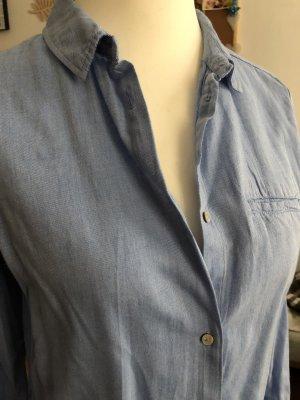 Garcia Jeans Camicia a maniche lunghe azzurro