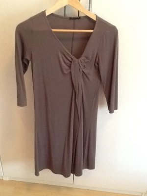 Sisley Robe t-shirt gris brun