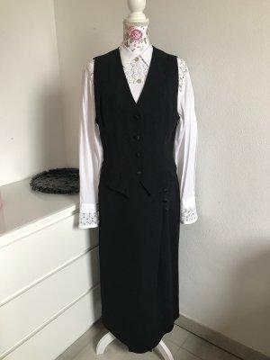Yorn Ladies' Suit white-black