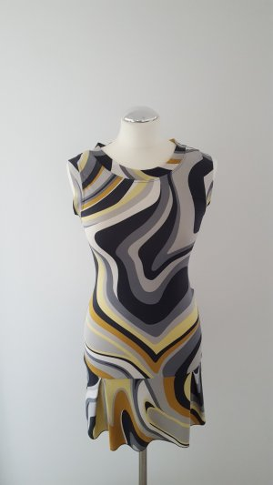 Mötivi Peplum Dress multicolored
