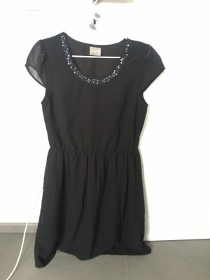 Vero Moda Vestido de chifón negro