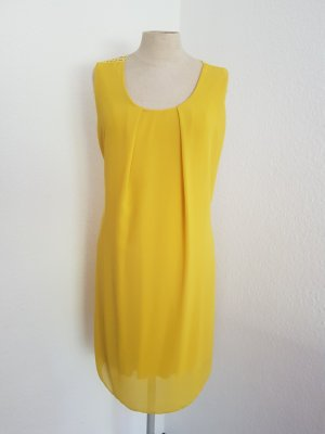 Made in Italy Chiffon Dress pale yellow