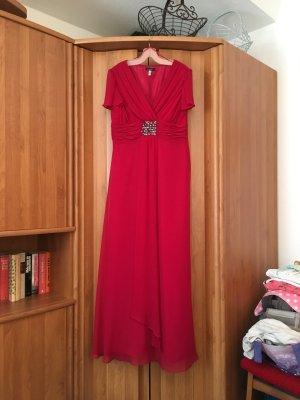 Schickes Kleid Cocktailkleid Abendkleid von mariposa in rot Gr. 38 ungetragen!!