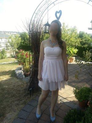 Schickes Kleid in Zartrosa Gr. 38