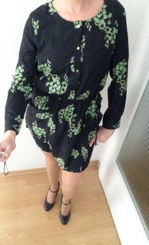 Shirtwaist dress dark blue-green