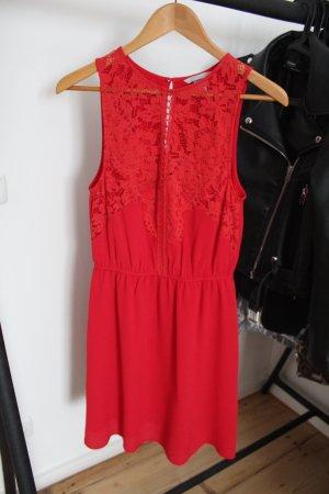 H&M Sheath Dress red