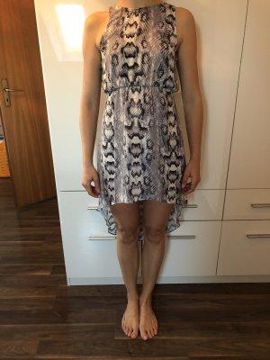 Schickes Kleid Sommerkleid Abendkleid animalprint/Spitze