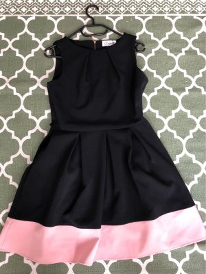Closet Cocktail Dress black-pink