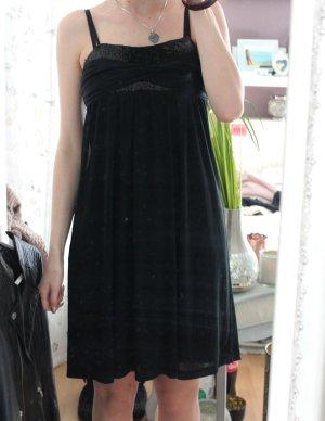 Esprit Vestido línea A negro