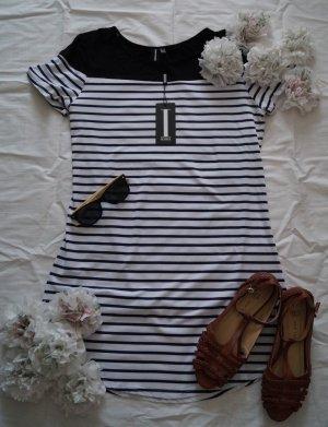 schickes Kleid von Izabel London, Navy, Maritim, Neu