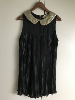 Reverse Robe de cocktail noir-doré