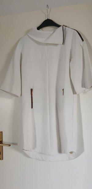 Zara Basic Sweat Dress natural white