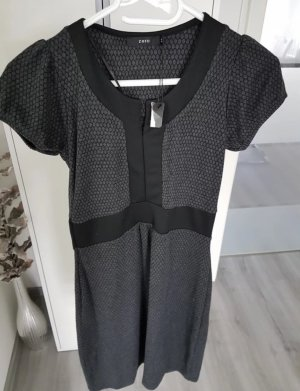 Schickes Kleid von Zero Gr. 34 grau schwarz *NEU mit Etikett*