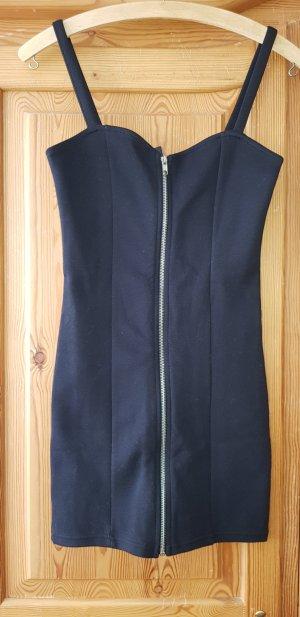 H&M Off-The-Shoulder Dress black-silver-colored