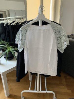 H&M L.O.G.G. Blusa bianco-grigio chiaro Viscosa