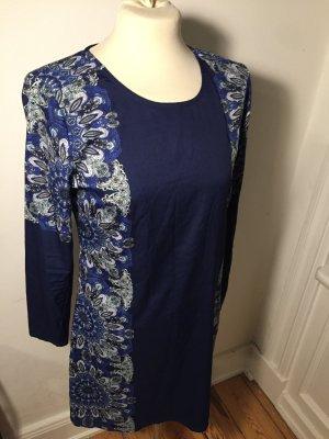 Schickes kurzes dunkelblaues Kleid, perfekt für Silvester / Weihnachten