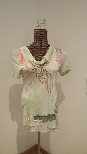 Biba Lang shirt lichtgroen