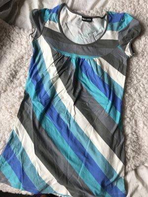 Tunique blanc-bleu clair