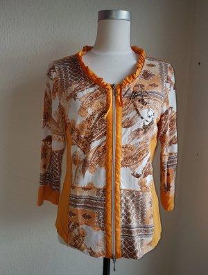 Biba Tunic Blouse gold orange-light orange
