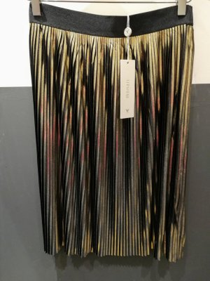 Monari Pleated Skirt bronze-colored-brown