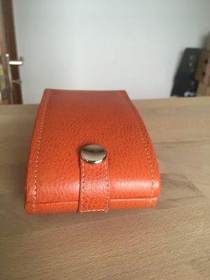 Cosmeticabox oranje-goud