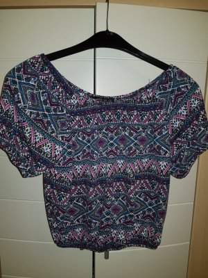 Primark T-shirt court multicolore polyester